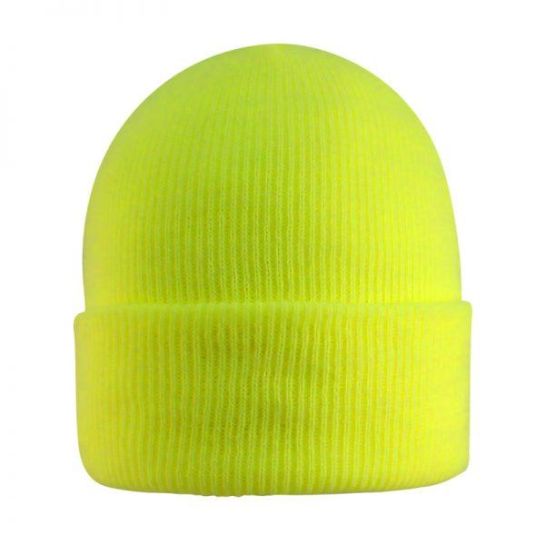 Knit Cuff Hat-Fleece Lined