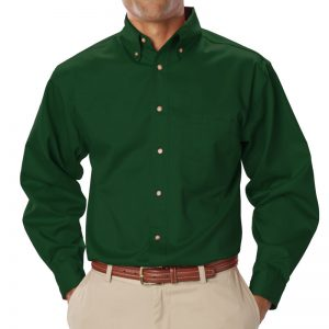Men's Long Sleeve Oxford
