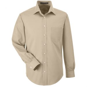 Men's Long Sleeve Button Up
